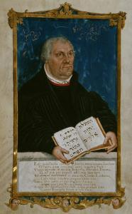 German Bible of Luther's Translation, 1561 by Lucas Cranach the Younger