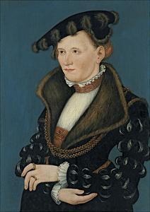 Portrait of a Woman, 1539 by Lucas Cranach the Younger