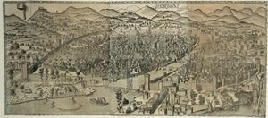 View of Florence Defense System, 1482 by Lucas Cranach the Younger