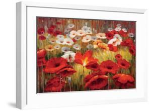 Meadow Poppies II by Lucas Santini