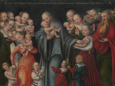 Christ Blessing the Children, c.1545-50