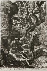 The Resurrection of Christ, 1557 by Lucas van Doetechum