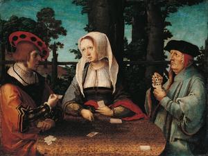 Card Players by Lucas Van Leyden