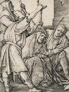 Christ Crowned with Thorns by Lucas van Leyden