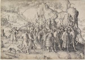 Conversion of St. Paul, 1509 by Lucas van Leyden
