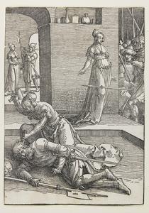 Jael Killing Sisera, 1516-1519 by Lucas van Leyden