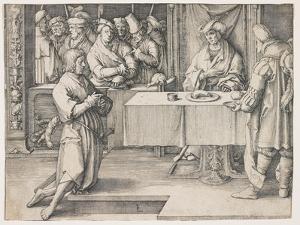Joseph Interpreting Pharaoh's Dreams, 1512 by Lucas van Leyden