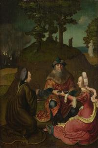Lot's Daughters Make their Father Drink Wine, 1508-1512 by Lucas van Leyden