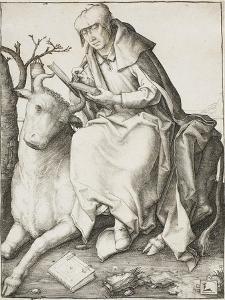 Saint Luke, C.1508 by Lucas van Leyden