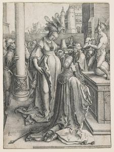 Solomon's Idolatry, 1514 by Lucas van Leyden