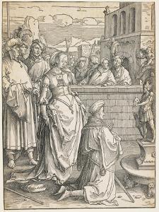 Solomon's Idolatry, C. 1512 by Lucas van Leyden