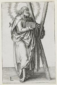 St. Andrew, 1510 by Lucas van Leyden