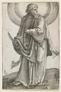 St. Bartholomew, 1510 by Lucas van Leyden