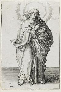 St. John, 1510 by Lucas van Leyden
