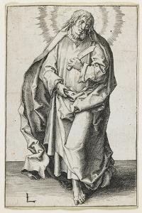 St. Matthew, 1510 by Lucas van Leyden