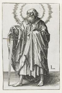 St. Paul, 1510 by Lucas van Leyden