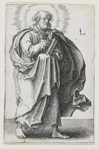 St. Peter, 1510 by Lucas van Leyden