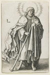 St. Thaddeus, 1510 by Lucas van Leyden