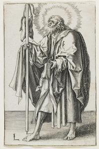 St. Thomas, 1510 by Lucas van Leyden