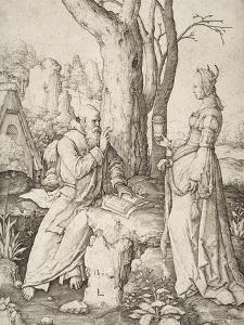 Temptation of St. Anthony, 1509 by Lucas van Leyden