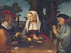 The Card Players by Lucas van Leyden
