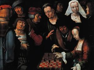 The Chess Players, 1510 by Lucas van Leyden