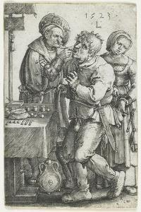 The Dentist, 1523 by Lucas van Leyden