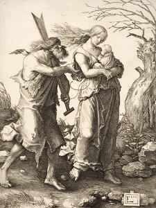 The Expulsion from Paradise, 1510 by Lucas van Leyden