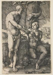 The Fall of Man, 1529 by Lucas van Leyden