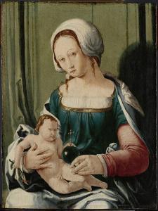 Virgin and Child by Lucas van Leyden