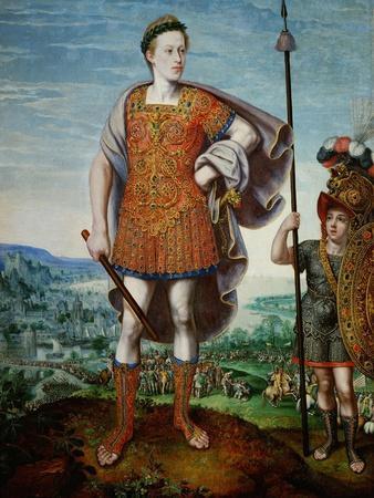 Archduke Matthias as Scipio Africanus the Elder, 1580