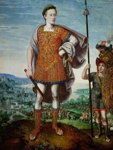 Archduke Matthias as Scipio Africanus the Elder, 1580 by Lucas van Valckenborch