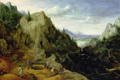 Landscape with a Foundry, 1595