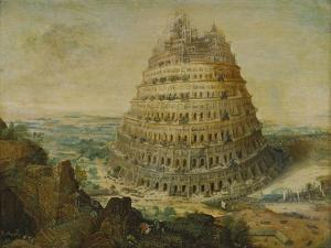 The Building of the Tower of Babel, 1568 by Lucas van Valckenborch