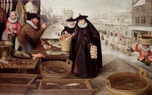 Winter, 1595 by Lucas van Valckenborch