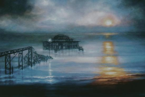 Lucent, 2006 Old Brighton Pier-Lee Campbell-Giclee Print