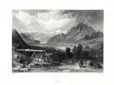 Lucerne, Central Switzerland, 19th Century-John Cousen-Giclee Print