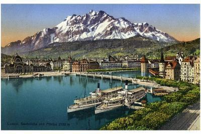 Lucerne, Switzerland, 20th Century--Giclee Print