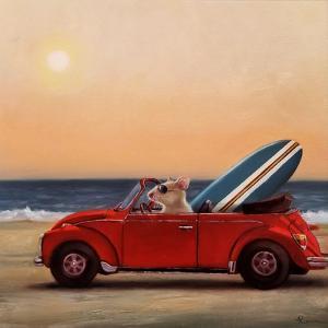 Beach Bound by Lucia Heffernan