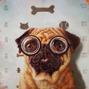 Canine Eye Exam by Lucia Heffernan