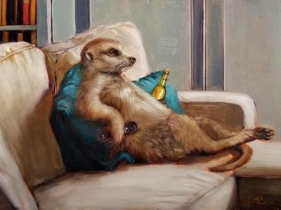 Couch Potato by Lucia Heffernan