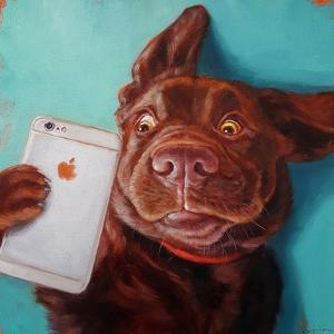 Dog Selfie by Lucia Heffernan