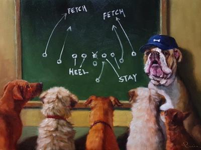 Game Plan by Lucia Heffernan