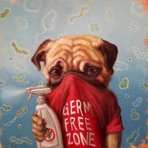 Germaphobic by Lucia Heffernan