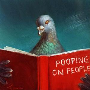 Pooping on People by Lucia Heffernan