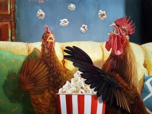 Popcorn Chickens by Lucia Heffernan