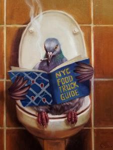Stool Pigeon by Lucia Heffernan