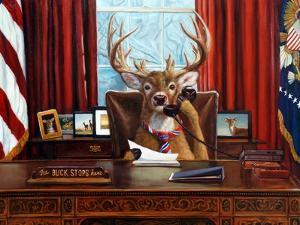 The Buck Stops Here by Lucia Heffernan