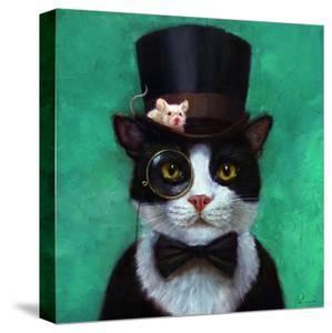 Tuxedo Cat by Lucia Heffernan
