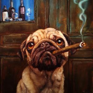 Uptown Pug by Lucia Heffernan